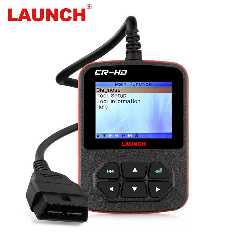 Original Creader CR-HD Heavy Duty Code Reader Scan Diagnostic Truck Scanner LAUNCH HD Plus Diagnostic-Tool Multi-Language