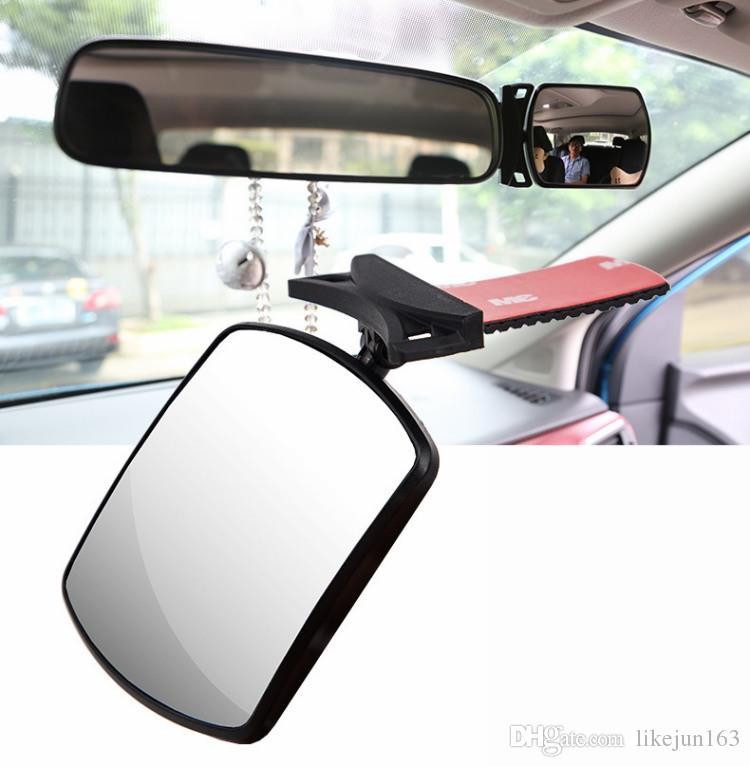 KONVINIT R/étroviseur pour v/élo Miroirs De V/élo R/églable Grand Angle Plastique Miroir Convexe pour V/élo De Route De Montagne,1 pi/èce