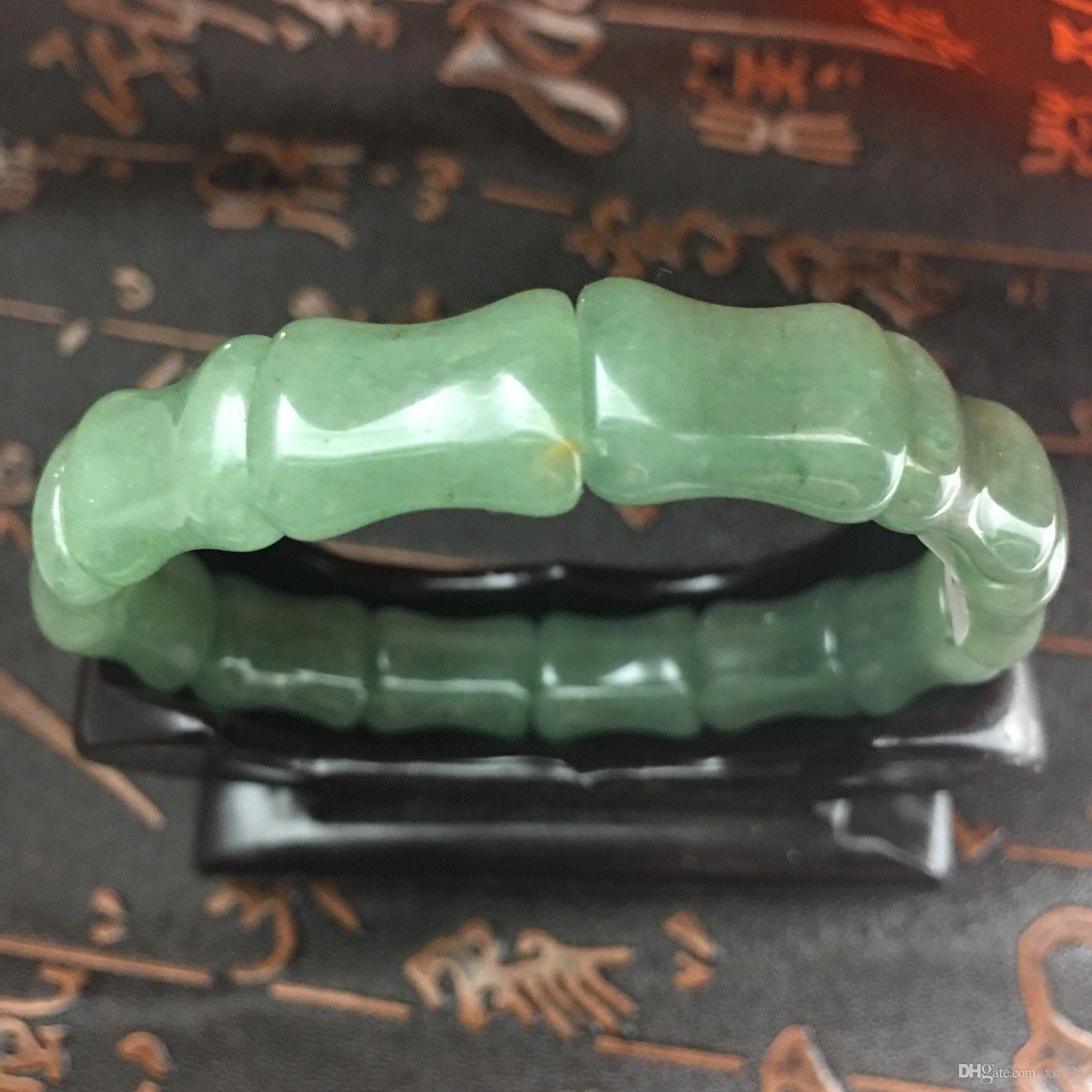 Natural green Dongling jade bracelet, best gift for girlfriend