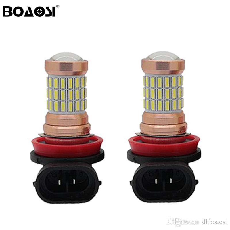 LED Voiture Brouillard Ampoule H11 H8 lumières Lampe DRL Vechicle Automobile Phare Éclairage Pilote Lumière LED