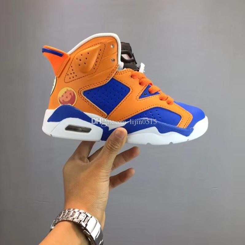 New Balance Toddler Girl Boy Children'S Shoes Youth Boys Kids Trainers Basketball Shoes 6s Chaussures De Sports Sneakers Enfant Size 28 35 Wide Tennis