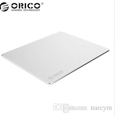 Orico mouse pad de alumínio com 1.5mm de alumínio0.5mm de borracha para casa, escritório, negócios, etc (amp2218)