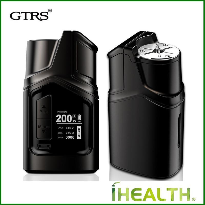 100% Auténtico GTRS GT200 II Modo de Control de Temperatura de la Caja TC 18650 200W LIMOU Chip Vs GTRS Vboy 200W Modo de Caja