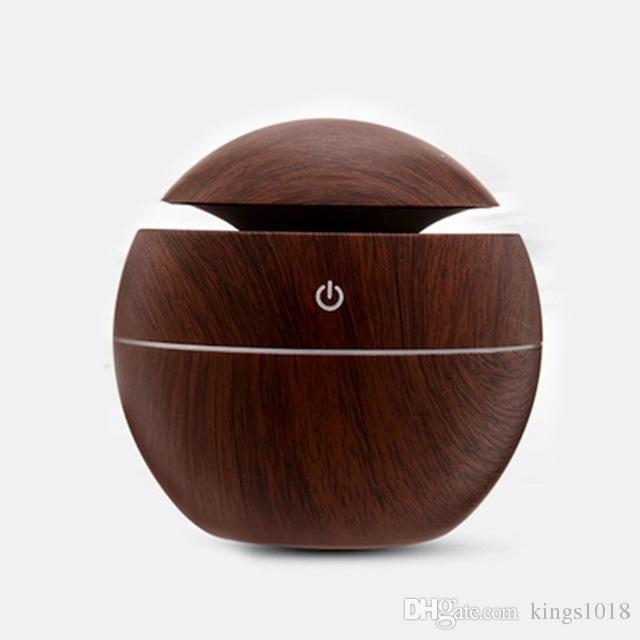 Di alta qualità USB Aroma Elettrico Anione Auto Deodorante Auto Casa Umidificatore A Vapore Aromaterapia Purificatore D'aria Carbone di Bambù Carbone Attivo