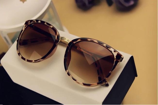 Leopard Vintage UV400 Schutz Outdoor Shades Damen Herren Sonnenbrille Eyewear 01