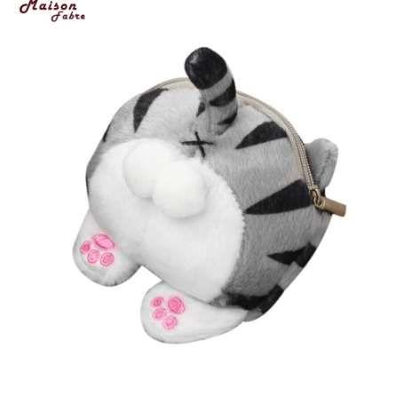 Maison Fabre Портмоне Милый Кот Попки Хвост Плюшевые Портмоне Изменение Кошелек Сумка Кошки Портмоне Симпатичные