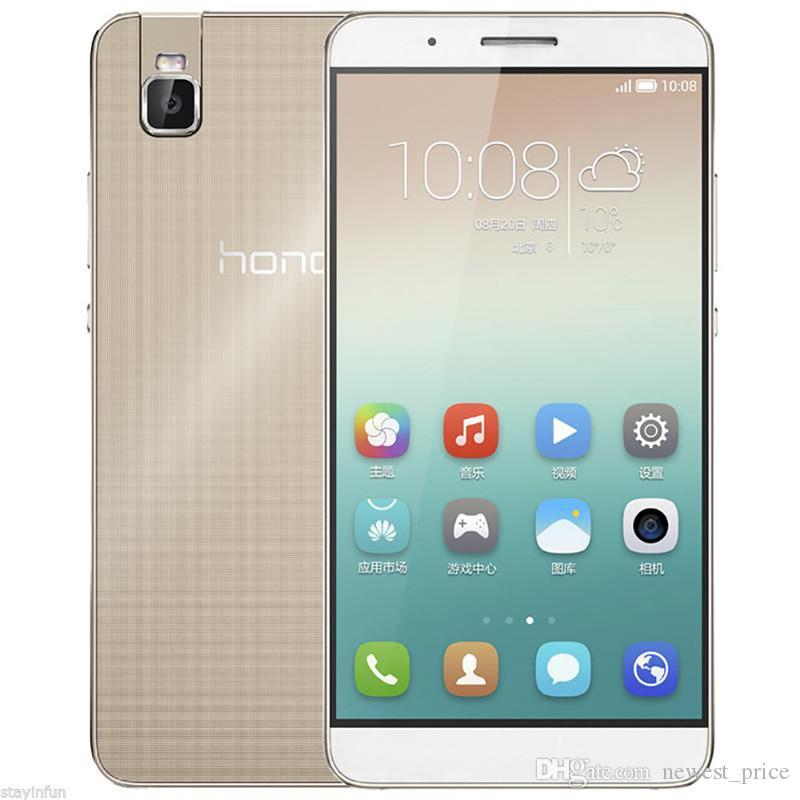"Orijinal Huawei Onur 7i 3 GB RAM 32 GB ROM 4G LTE Cep Telefonu Snapdragon 616 Sekiz Çekirdekli Android 5.2 ""13.0MP Parmak Izi KIMLIK Akıllı Cep Telefonu"