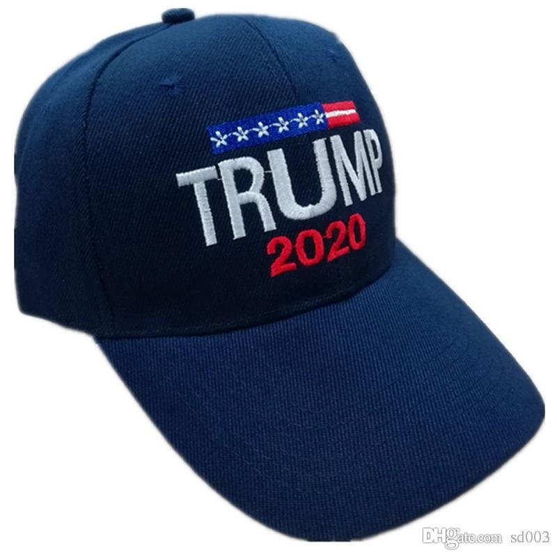 Adultos gorras de béisbol Deportes Mantener Great American Donald Trump 2020 Snapback hueso curvo visera plegable fácil lleva 9 6ds2 zz