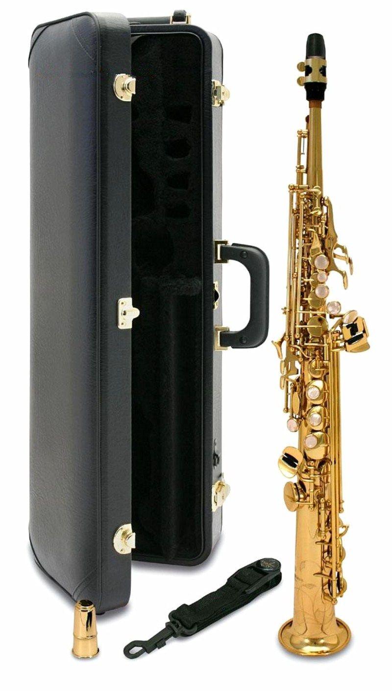 Giappone S-901 BB Soprano Soprano Saxophone Strumenti musicali di alta qualità Yanagisawa Case regalo professionale