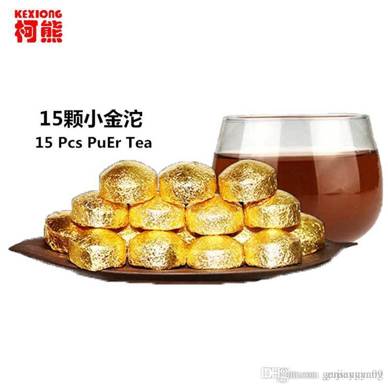 Sıcak Satış 80g Yunnan Mini Tuocha Olgun Puer Çay Kek Organik Doğal Pu'er Eski Ağaç Pişmiş Puer Çay Siyah Puerh Kalay Folyo Packag