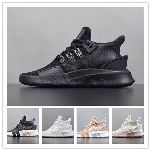 Eqt basks adv eqt 2 tênis de corrida sapatos de desenhador de malha malha esportes ao ar livre marca mulheres eqt 2 triplo preto treinadores brancos tênis sapatilhas
