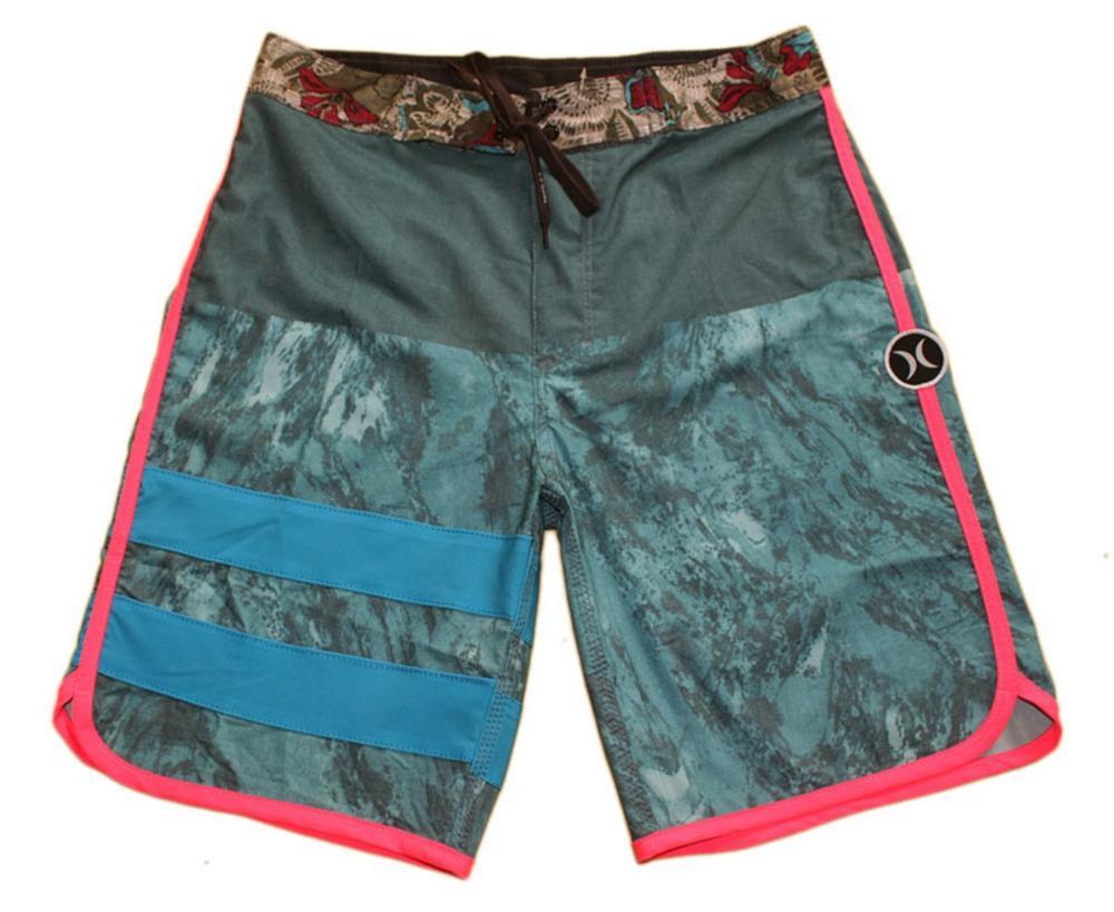High Quality Elastane Cotton Fashion Bermudas Shorts Mens Board Shorts Beachshorts Quick Dry Surf Pants Loose Swim Trunks Swimwear Swimtrunk
