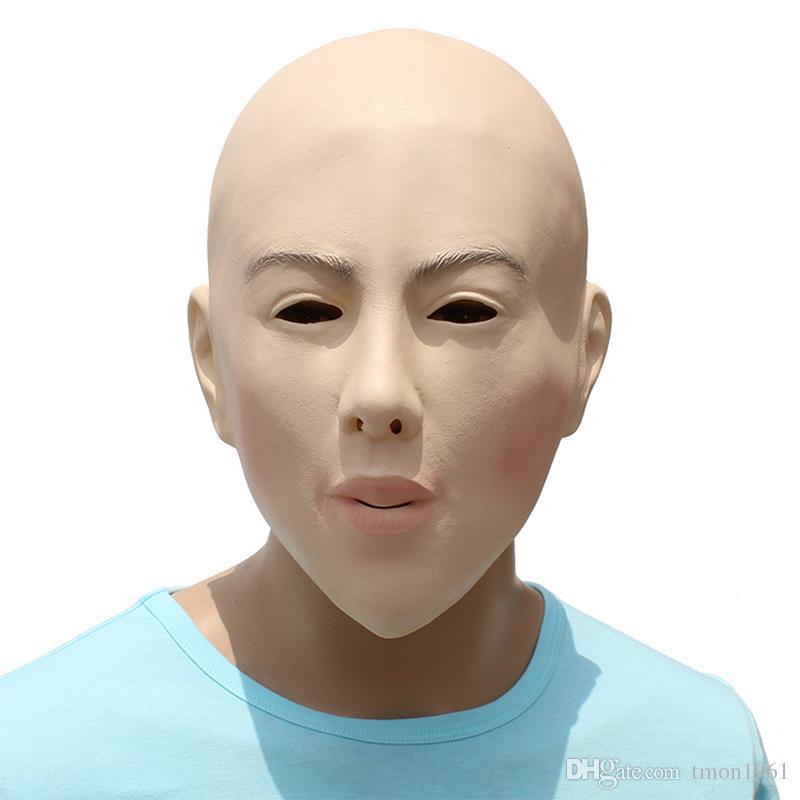 Женский полный глава маскировка трансвестит трансгендер латекс Маска Хэллоуин Маскарад косплей женщина партия Маска мяч