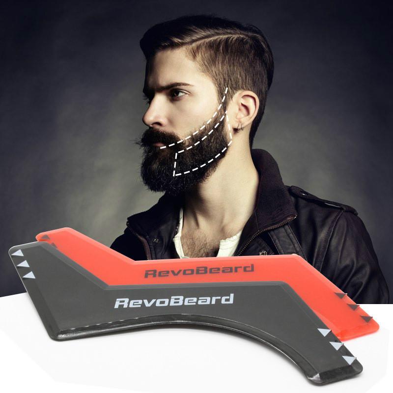 New RevoBeard Beard comb formwork tool Beard Styling Templa
