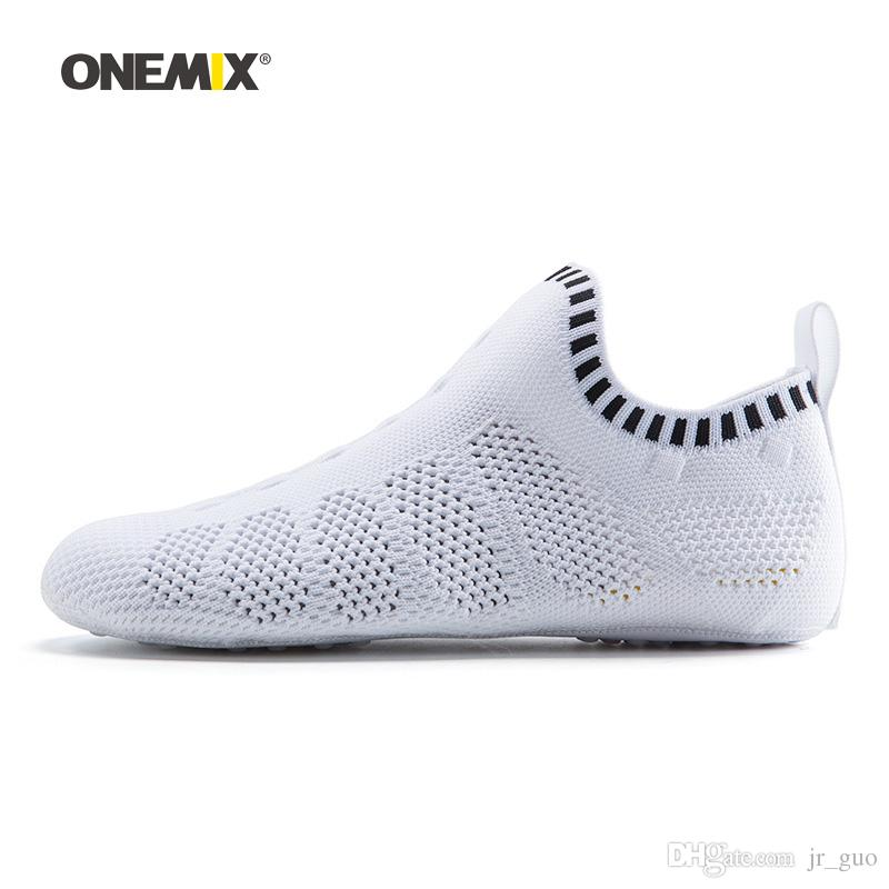 Mens Sneakers Lightweight  Breathable Socks Nonslip Running Shoes Casual Fitness