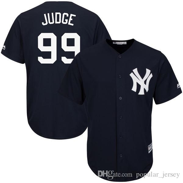 Jersey Sanchez Gary York 24 Marine Maillot Judge Baseball Blanc Bleu Don De Maillots Base Aaron Yankees 23 99 Mattingly New