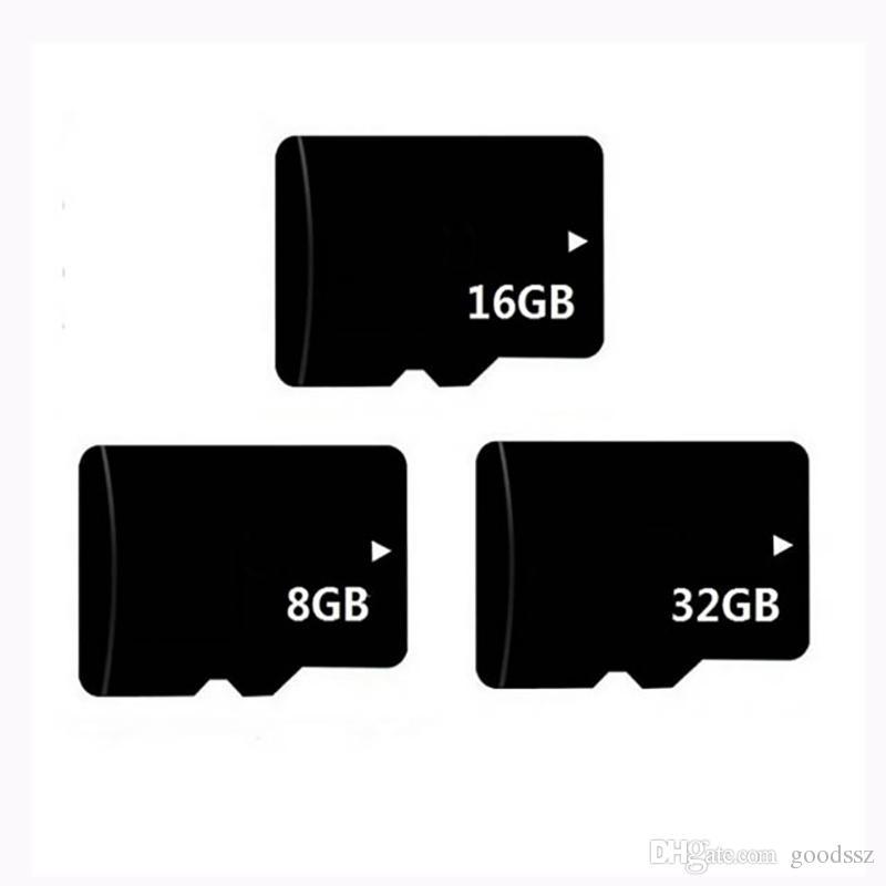 Real Capacidade 8 GB 16 GB 32 GB Cartão de Memória TF Com Adaptador para o Telefone Celular MP3 / 4 Player Tablet PC