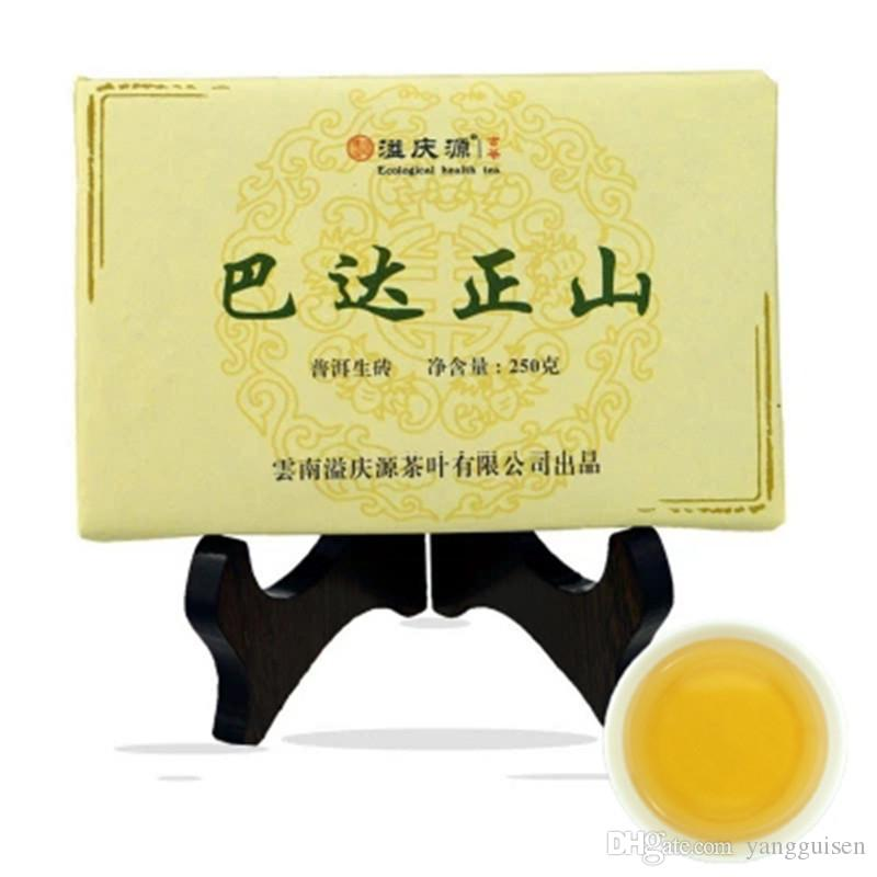 Promotion 250g Yunnan Bada Zhengshan PU-äh Tee Brick Raw Pu Er Tee Organic Natural Pu'er Tee Brick Alter Baum Grün Puer
