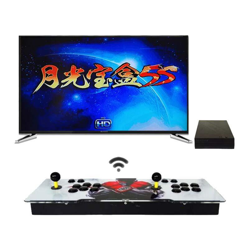 باندورا 5S 1299 في 1 صفر تأخير وحدة الألعاب اللاسلكية عصا أركيد مع زر الممرات وإخراج HDMI VGA HDMI