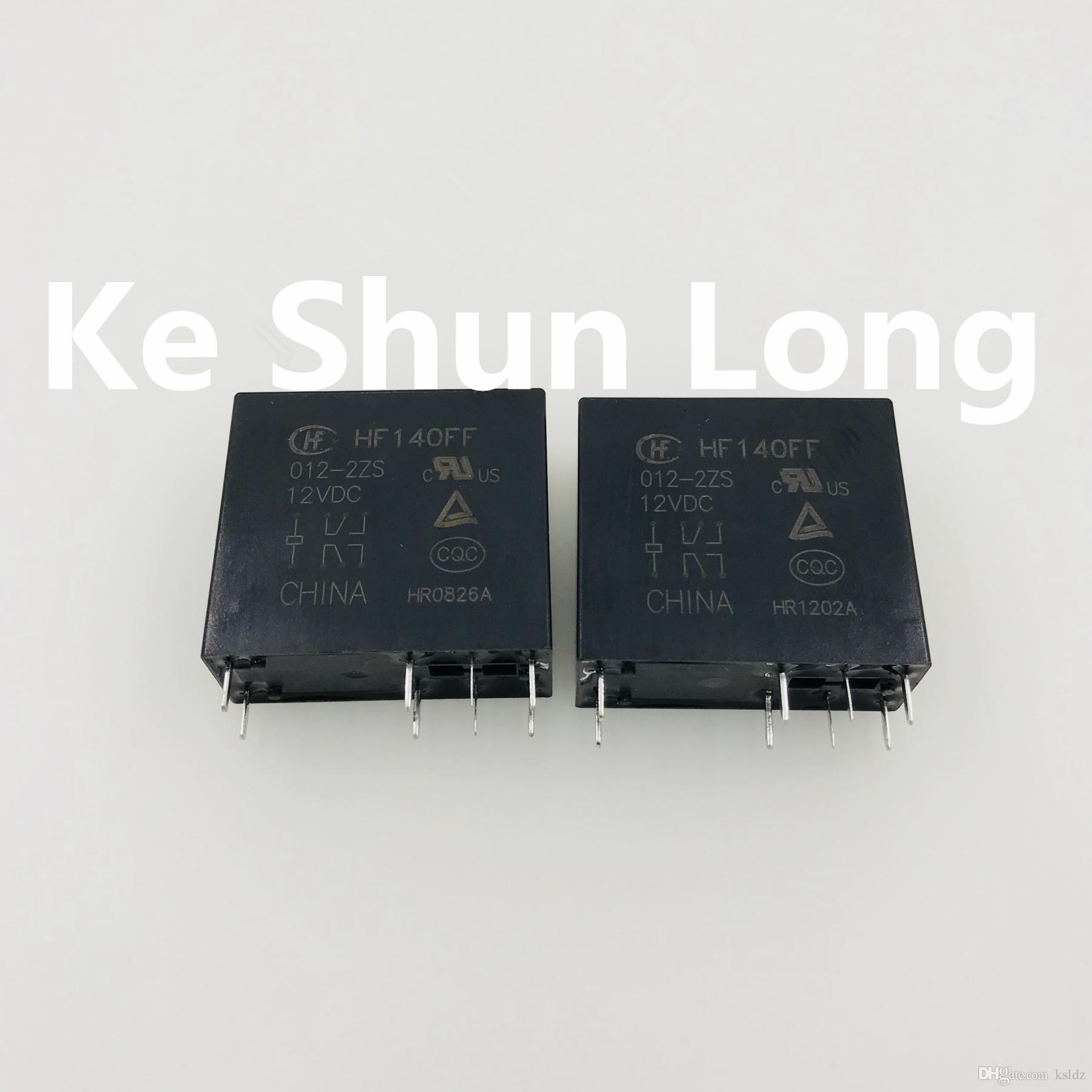 무료 배송 (5pieces / 많은) 원래 새로운 HF140FF JZX-140FF 005-2ZS 012-2ZS 024-2ZS 048-2ZS 8PINS 10A 5VDC 12VDC 24VDC 48VDC 전원 릴레이