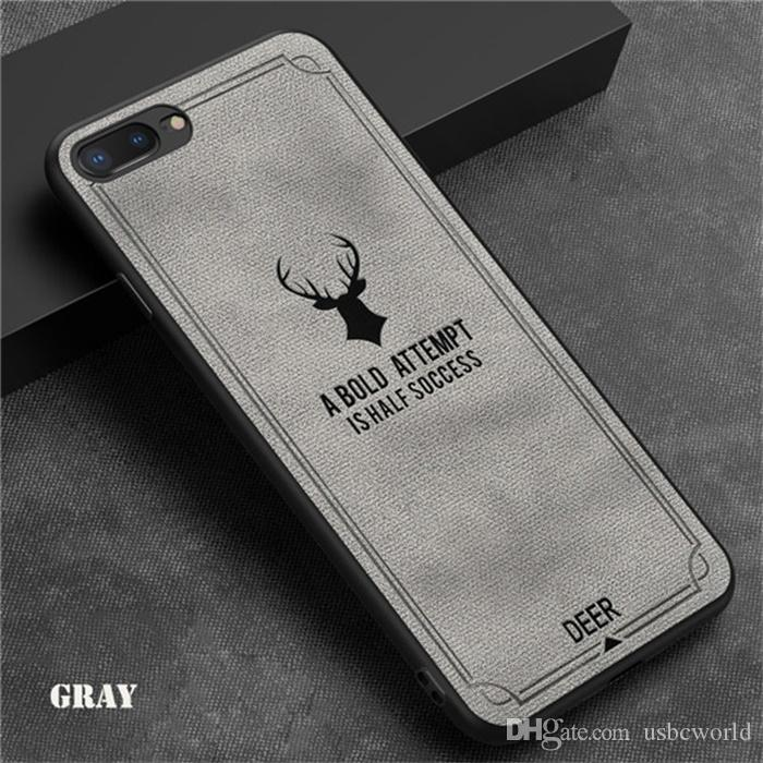 Embossed Soft TPU Back Case for iPhone