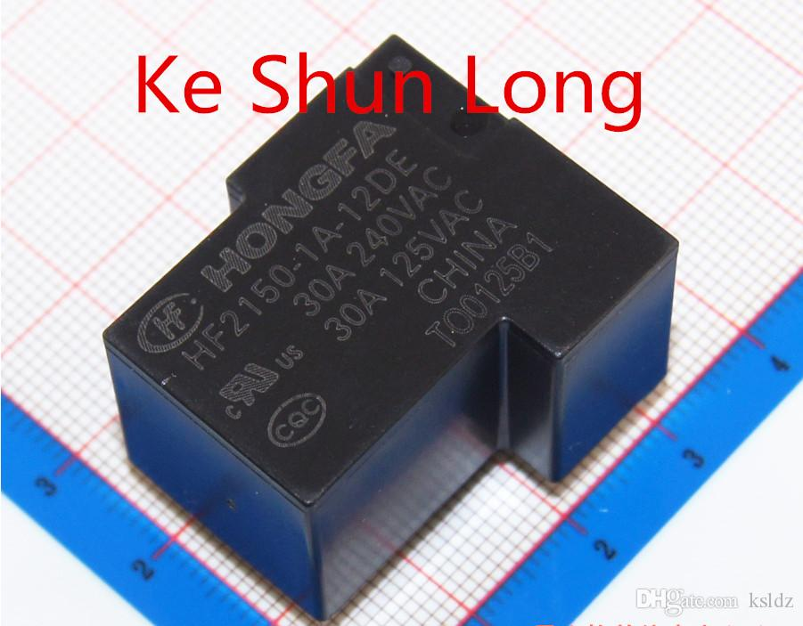 Free shipping lot(5pieces/lot) 100%Original New HONGFA HF2150-1A-12DE HF2150-1A-24DE HF2150-1A-48DE 4PINS 30A 12VDC 24VDC 48VDC Power Relay