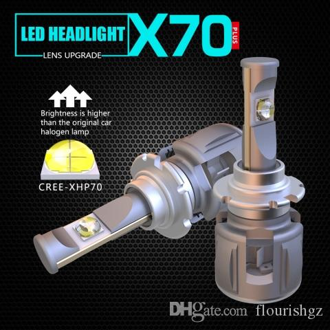 D3S LED Conversion Kit Bulb Upgrades for Projector Lens Headlights