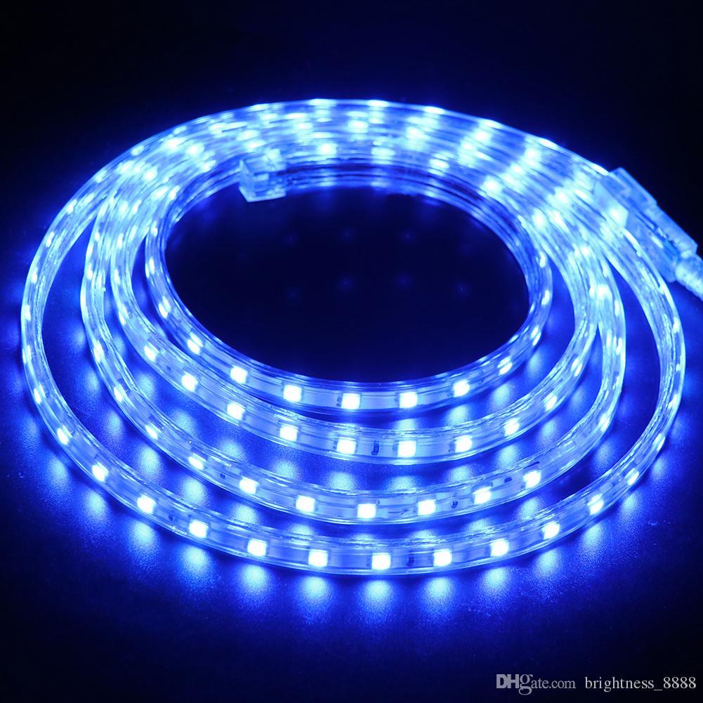 SMD5050 Flexible LED Neon Rope Light Strip Neon Tube Light for Room Garden Decor