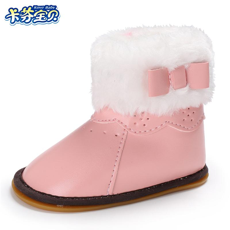 Winter Warm Baby Snow Boot Fashion PU