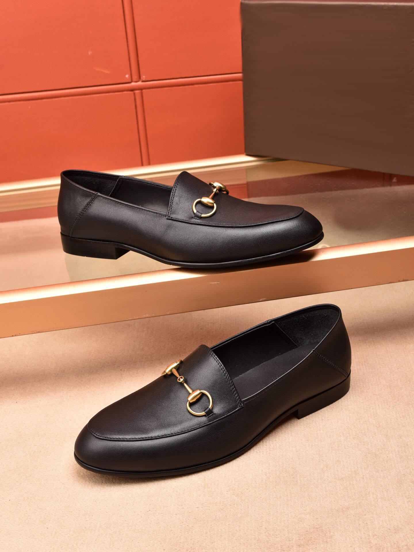 2019 남자 정품 가죽 공식적인 운전 신발 브랜드 미끄럼 식 사무실 웨딩 드레스 신발 moccasins 낮은 굽 oxfords zapatos hombre 크기 38-45