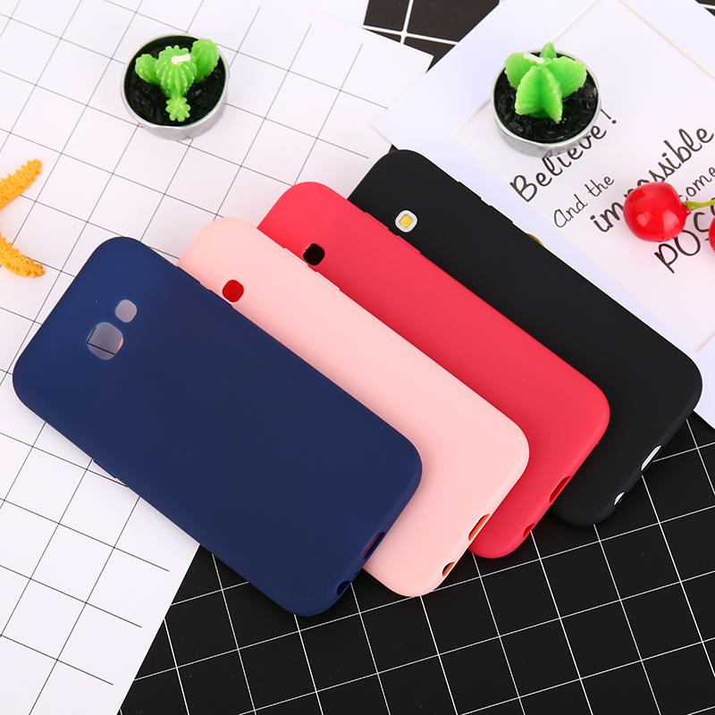 Candy Color TPU Silicone Case For Samsung Galaxy S6 S7 Edge S8 S8 Plus A3 A5 A7 2016 J3 J5 J7 2017 Grand Prime Rubber Phone Case