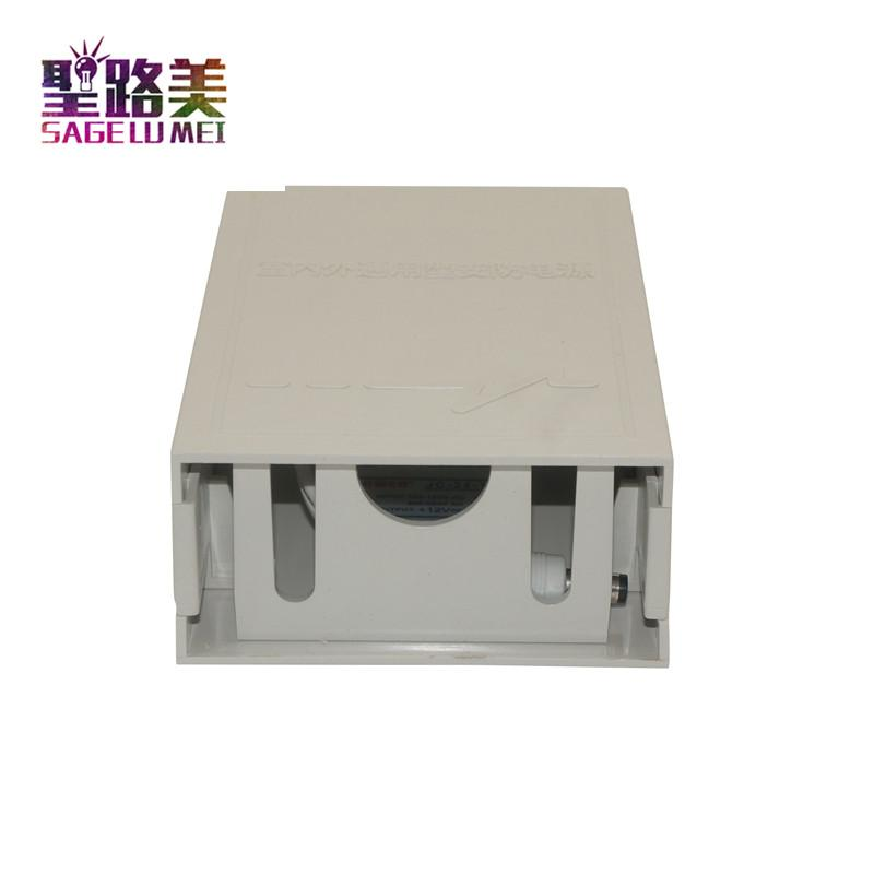 Alimentatore di sicurezza da AC110-220V a 12V 2A Spina a corrente continua da 2000mA a led Scatola di alimentazione elettrica esterna CCTV di sicurezza