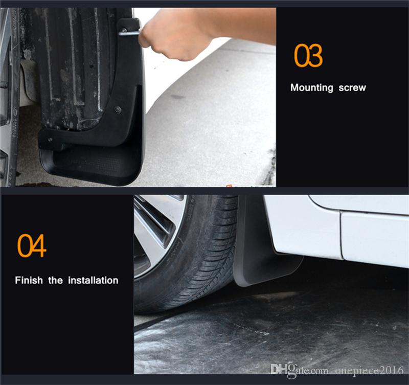 Car Mudflaps Splash Guards Mud Flap Mudguards Fender For BMW X3 F25 2011  2012 2013 2014 2015 2016 2017 Interior Accessories Interior Auto  Accessories