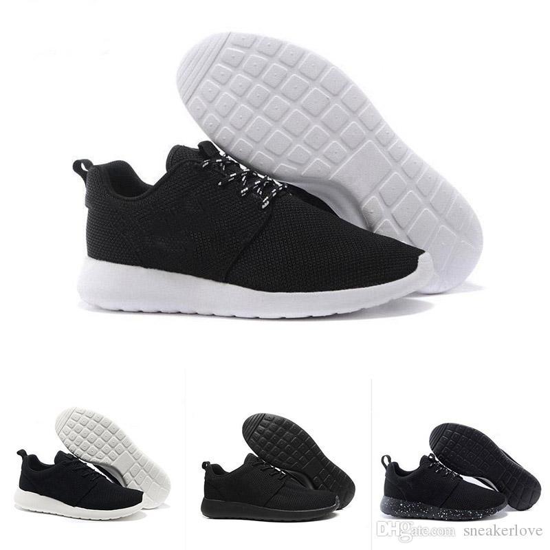 2018 populaar espíritu olímpico de Londres hombres mujeres zapatos para correr velocidad casual negro rojo de varios colores de malla informal entrenadores para correr humanos 36-45