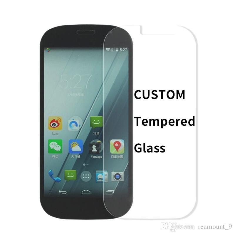 Verre Trempé Personnalisé Pour IPhone X 8 8Plus Protecteur D'écran Collé Anti-Explosion Pleine Couverture Complète Pour Samsung S9 Film Personnalisé