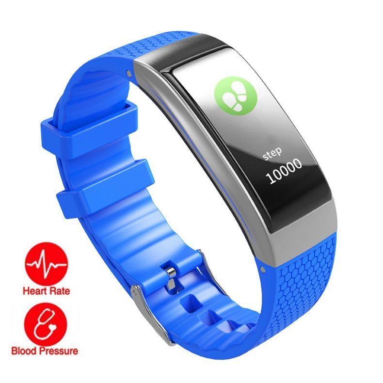 건강 추적기 DB07C 안 드 로이드 아이폰에 대 한 스마트 팔찌 심장 박동 혈압 모니터 보수계 IP68 방수 수면 모니터 팔찌