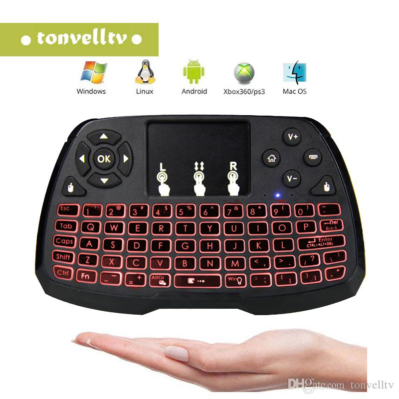 2018 New 2.4G Wireless Mini Keyboard Combo A3 Fly Air Mouse Multi-media Remote Game Controller Touchpad DPI For Smart TV Box
