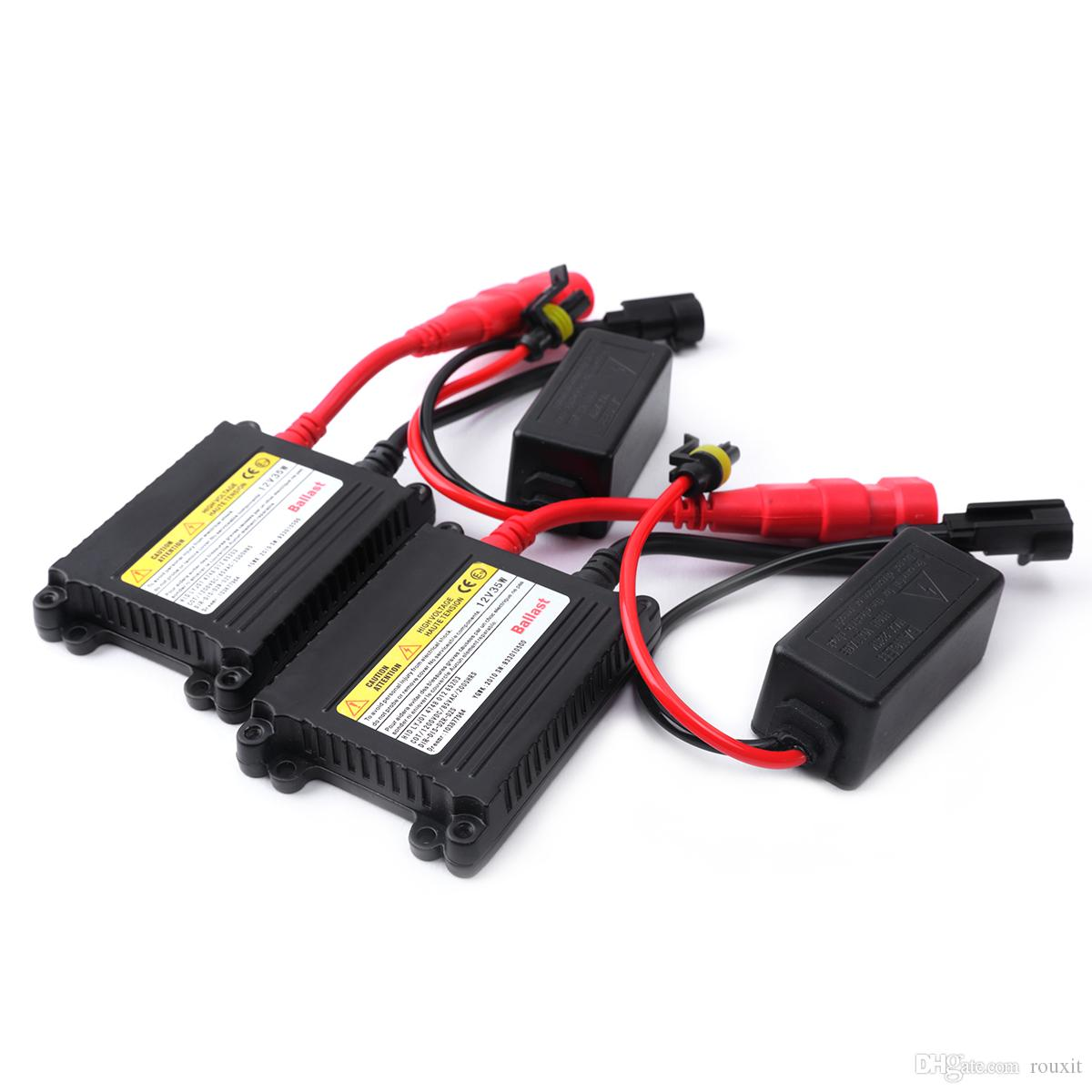 5 unids Slim DC HID Balastro de Xenón 12 V 35 W para HID Bombillas de Repuesto Lastre Hid Balastos Balastros de Xenón