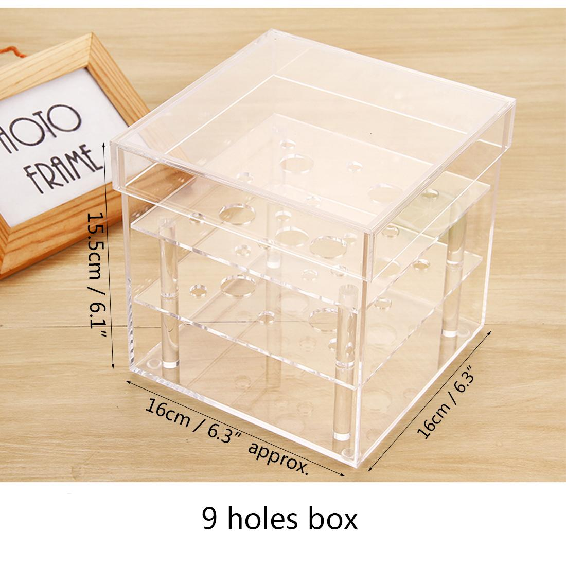 b841a5f10f67 2019 New Arrival Acrylic Rose Box Cosmetic Box With Removable Lid Nice Gift  Packaging For Flowers From Sweet4, $7.03 | DHgate.Com
