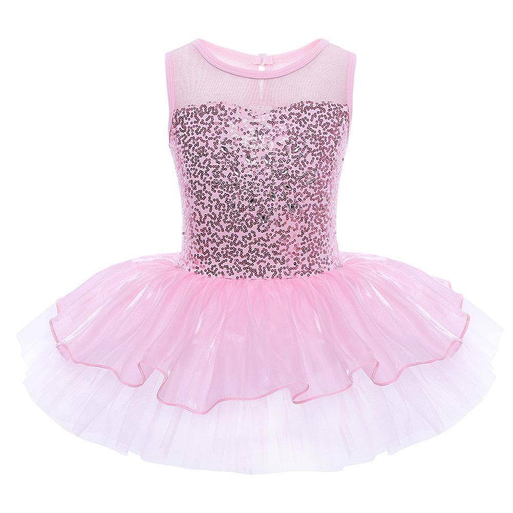 Compre Iefiel Girls Professional Ballet Tutu Vestido Sin Mangas ...