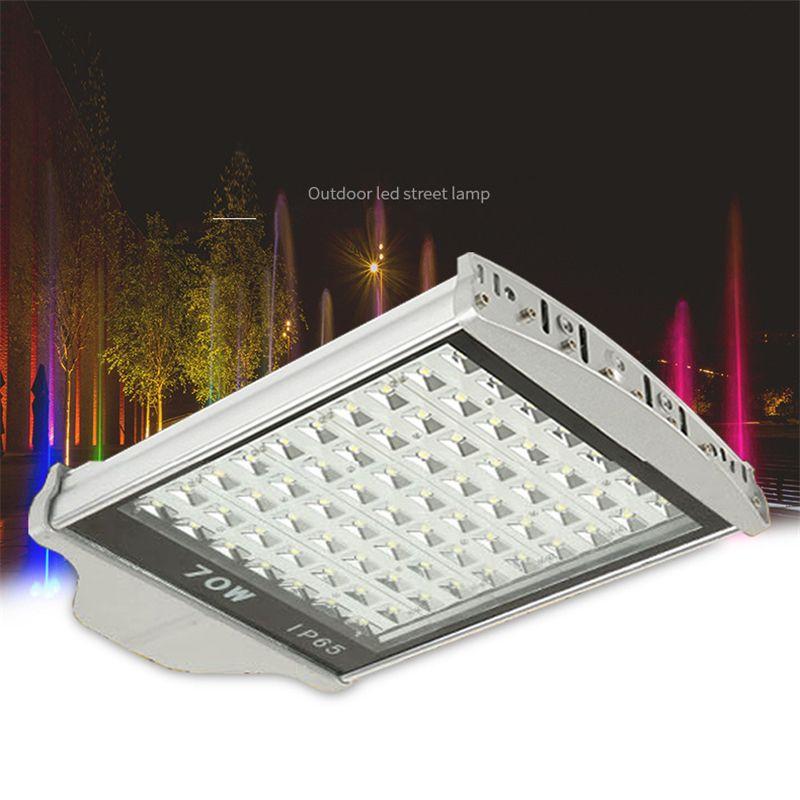 70W AC85-265V LED Poste Estrada Lâmpada do bulbo jardim perfil de alumínio impermeável lâmpada rua levou luz 3 anos RoHS garantia CE