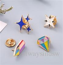 Fashion Classic carton icons Style Enamel pin Badge Buttons Brooch Anime Lovers Shirt Denim Jacket lapel pin