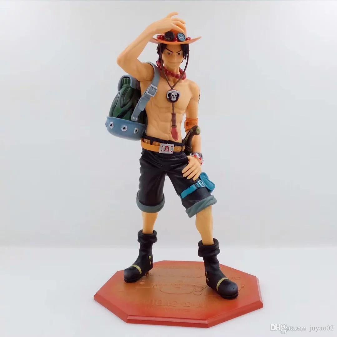 One Piece Action Figure NEO-DX 10th Anniversary Special Edition POP 10th Fire Portgas D Ace Limited Figure Model Doll