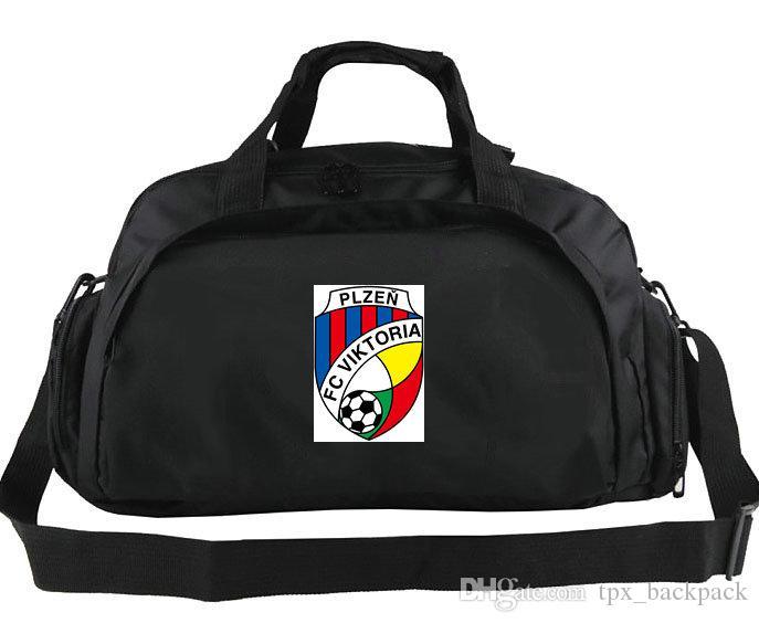 Viktoria Plzen borsone Victory Club tote FC Squadra di calcio zaino calcio duffle spalla Emblem fionda pacchetto giocatore bagaglio Sport