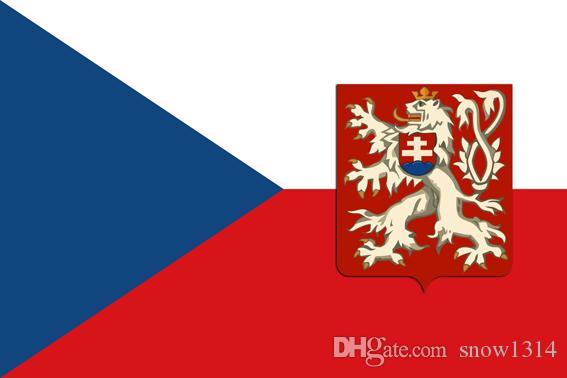 Czechoslovakia Flag Banner 150CM*90CM 3*5FT Polyester Custom Banner Sports Flag
