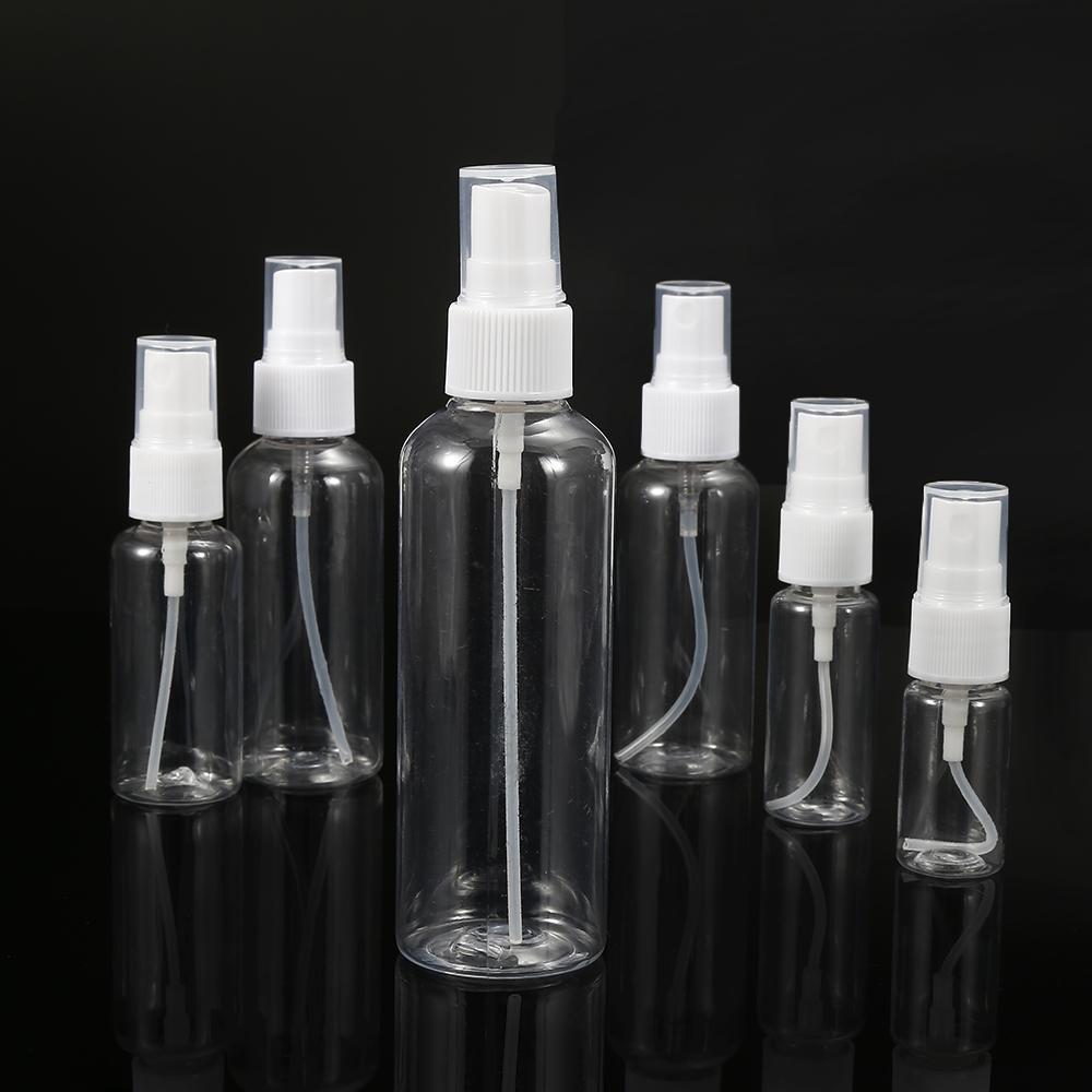 50 PCs 100 ml Clair Vide Récipient En Plastique Pulvérisateur Rechargeable Atomiseur Cosmétique Huile Essentielle Parfum Voyage Bouteille Livraison gratuite