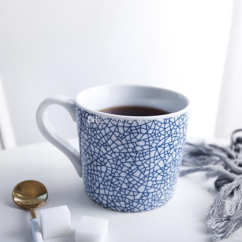 Neko chat noir en céramique tasse de thé et café Violet FREE SHIP Japan
