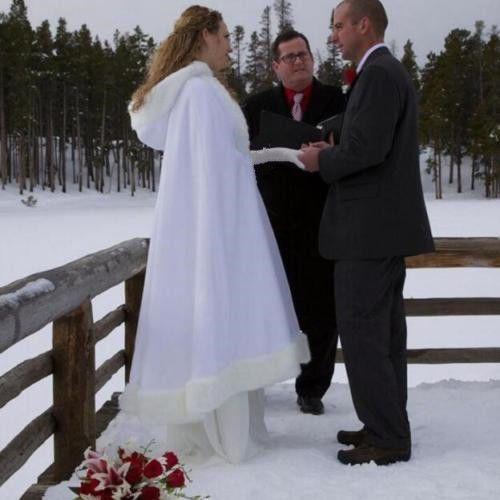 Рождество Зима Свадьба Невеста Куртка Мыс Искусственный Мех Лодыжки Длина Женщин Шаль
