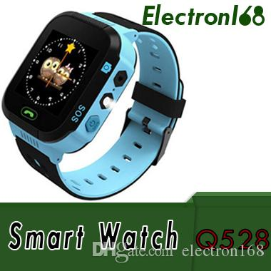 2018 Touch Screen Q528 Kids GPS Tracker Watch Kids Smart Watch SOS Call Location Finder Device Tracker Kids Flash Light Watch MOQ:50PCS