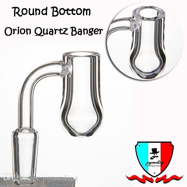 Orion bartz quarzo spessore 4mm fondo piatto fondo piatto 19mm 14mm 10mm giunto maschio / femmina lucido per rig da bong in vetro